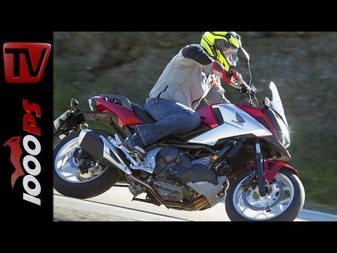 Honda NC750X Test 2016 | Fahrbericht, Action, Fazit, DCT
