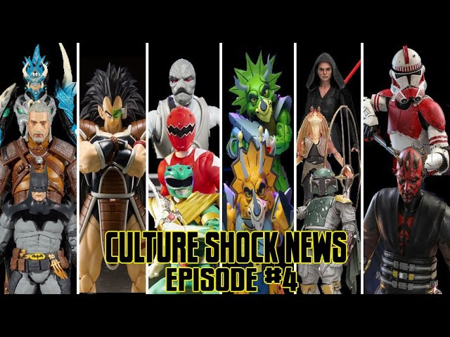 cSc News Ep4: Dc Multiverse, SHFiguarts Raditz, Power Rangers, NECA TMNT, Star Wars, Hot Toys News