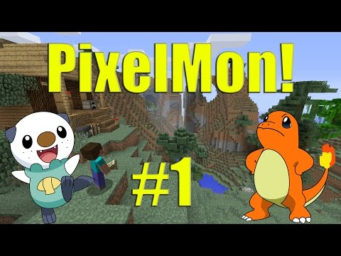 Pixelmon 3 0 with friends episode 1 humble beginnings - Pixelmon ep 1 charmander ...