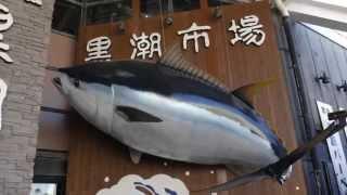 和歌山マリーナシティのポルトヨーロッパと黒潮市場です。