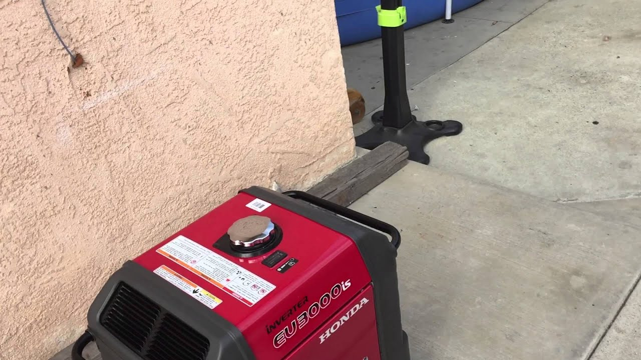 Honda eu3000is generator with wheel kit youtube - How long do generators last ...