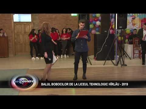 BALUL BOBOCILOR DE LA LICEUL TEHNOLOGIC HÎRLĂU - 2019