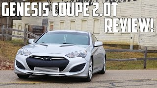 2013 Genesis Coupe 2.0T Review OH MY GOD BOOST