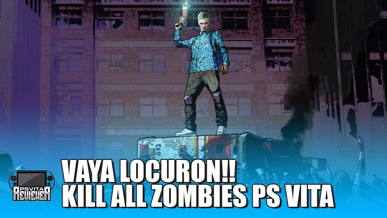 Ps Vita Cod Zombies: VAYA LOCURON!! KILL ALL ZOMBIES PS VITA @SPL_LLC