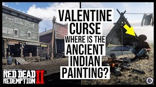 Red Dead Redemption 2 VALENTINE CURSE Ancient Indian Painting