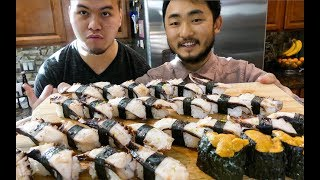 Catch and Sushi Series Ep.5: Octopus and Red Urchin