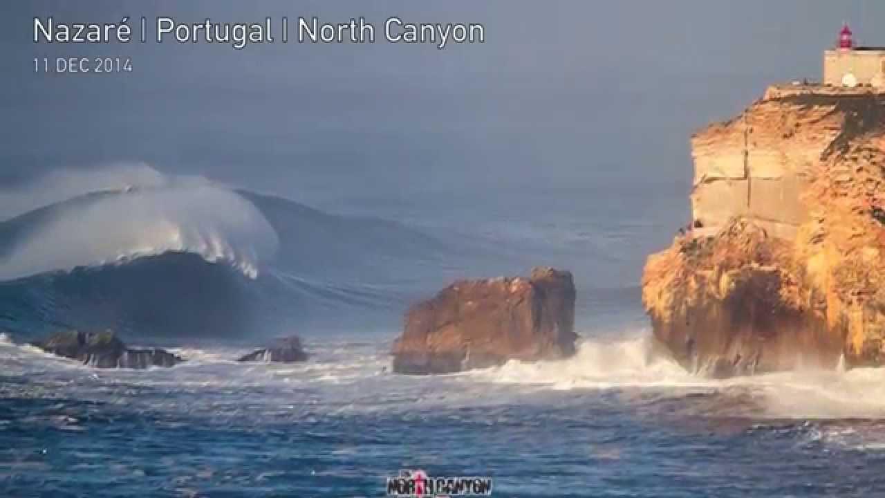 Nazaré North Canyon | Dronestagram  |Nazare Canyon