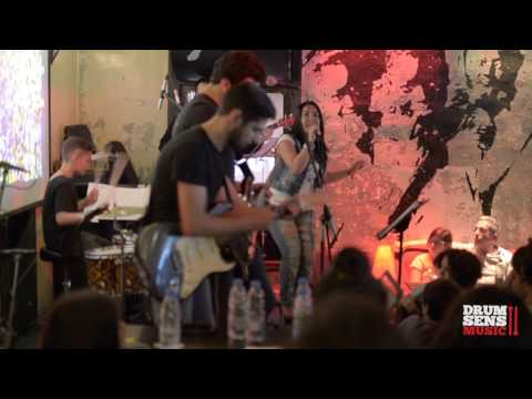 """Drumsens Beirut: """"Welcome To The Jungle"""" Student Live Performance at Radio Beirut"""