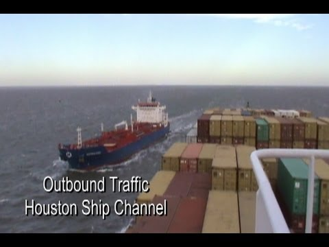 MSC TEXAS Container Ship Largest to Call Port of Houston