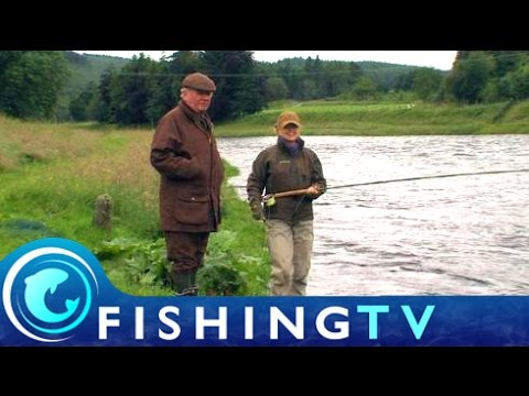 Salmon Fishing Middle Blackhall Salmon Beat - Fishing TV