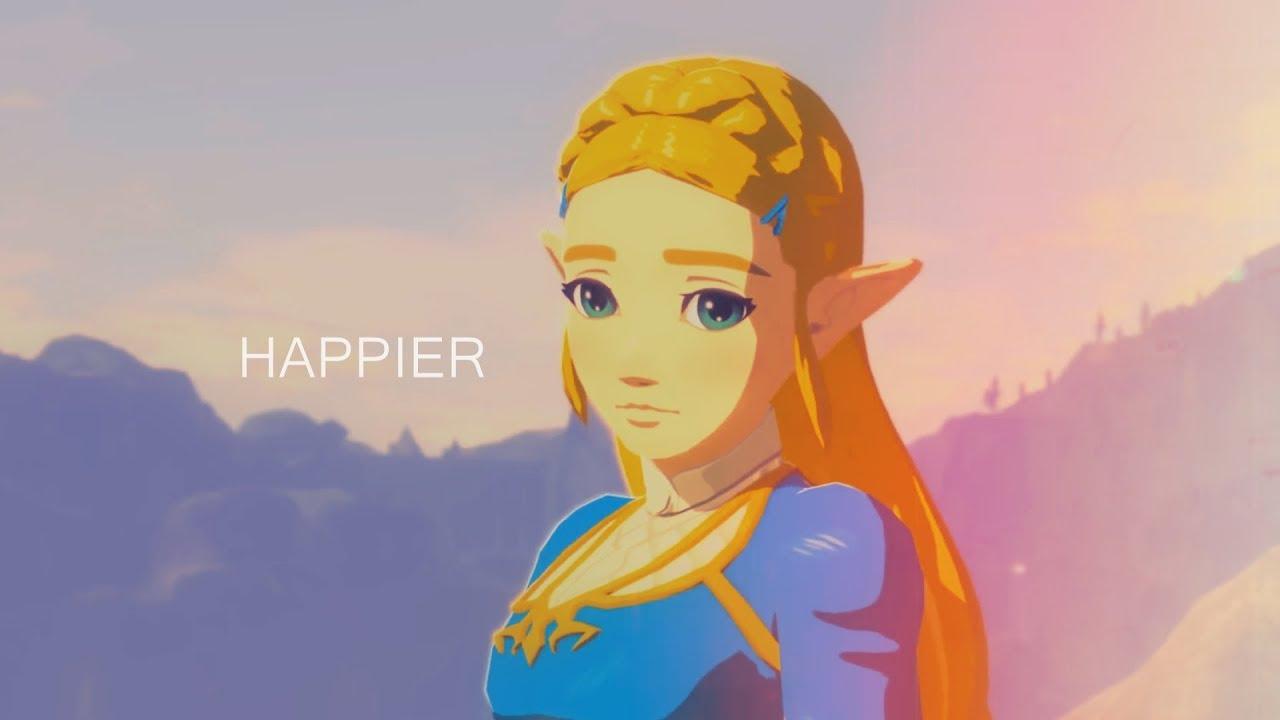 Amv Gmv Happier Botw Zelda X Link