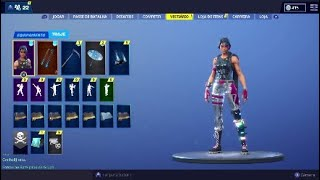Seeing a Fortnite account! With pass 2 skins and save the world