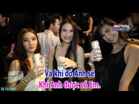CHO TIM MINH 1 LY DO  (KARAOKE REMIX)