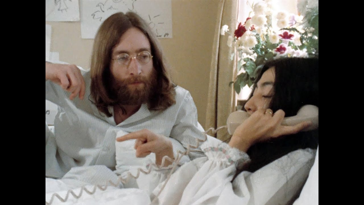 Bed Peace Starring John Lennon Yoko Ono 1969 Youtube