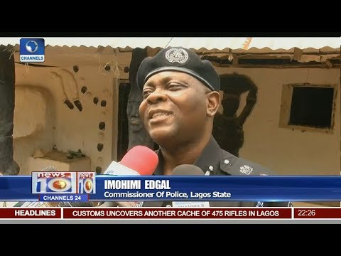 Lagos Police Demolish Shrines In Ikorodu, Lagos