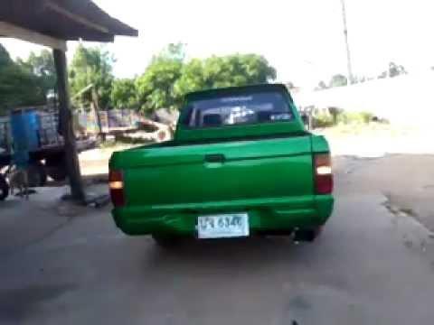L200 แต่งสีเขียว ท่อแต่ง