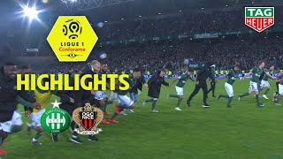 AS Saint-Etienne - OGC Nice ( 3-0 ) - Highlights - (ASSE - OGCN) / 2018-19