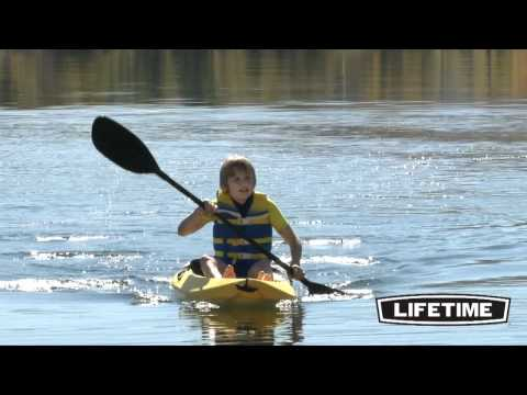 Lifetime Kid's Sit On Top Kayak (Yellow)