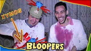 BLOOPERS: Bloody Head Challenge ft. PanosDent #Internet4u