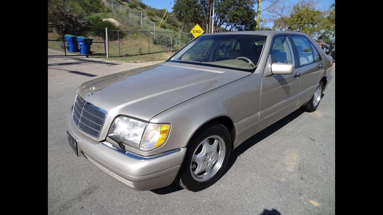 Mercedes benz s320 s600 s500 w140 s class 1997 big body sedan saloon 1 owner youtube