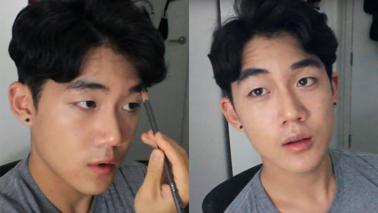 Kpop Makeup For Guys NATURAL KOREAN MALE MA...