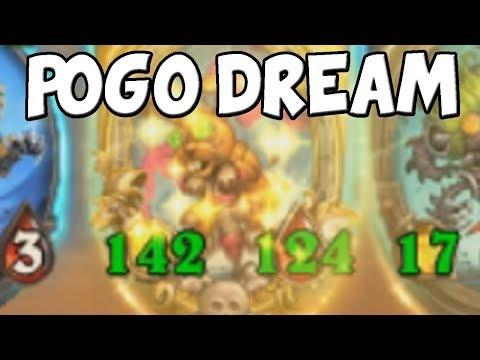 276 / 218 POGO HOPPERS - THE POGO DREAM   Hearthstone Battlegrounds