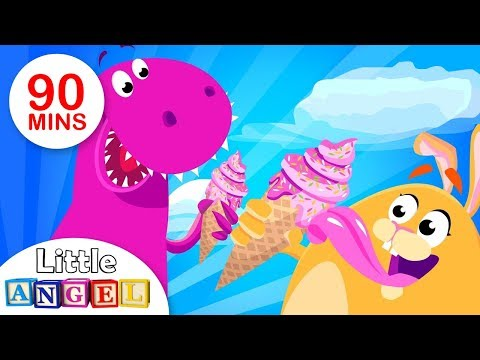 Would You Play with a Dinosaur, Baby Shark, and more! | Compilation | by Little Angel