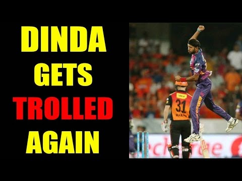 IPL 10 : Ashok Dinda gives poor performance again; gets trolled badly by Twitter   Oneindia News