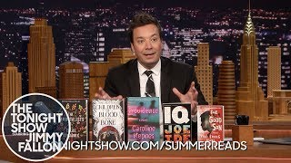 Jimmy Announces Tonight Show Summer Reads