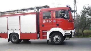 JRG 1 Tarnów : przejazd alarmowy 361[K]22 przez Wierzchosławice do zaczadzenia