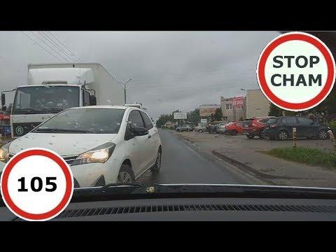 Stop Cham #105 – Niebezpieczne i chamskie sytuacje na drogach