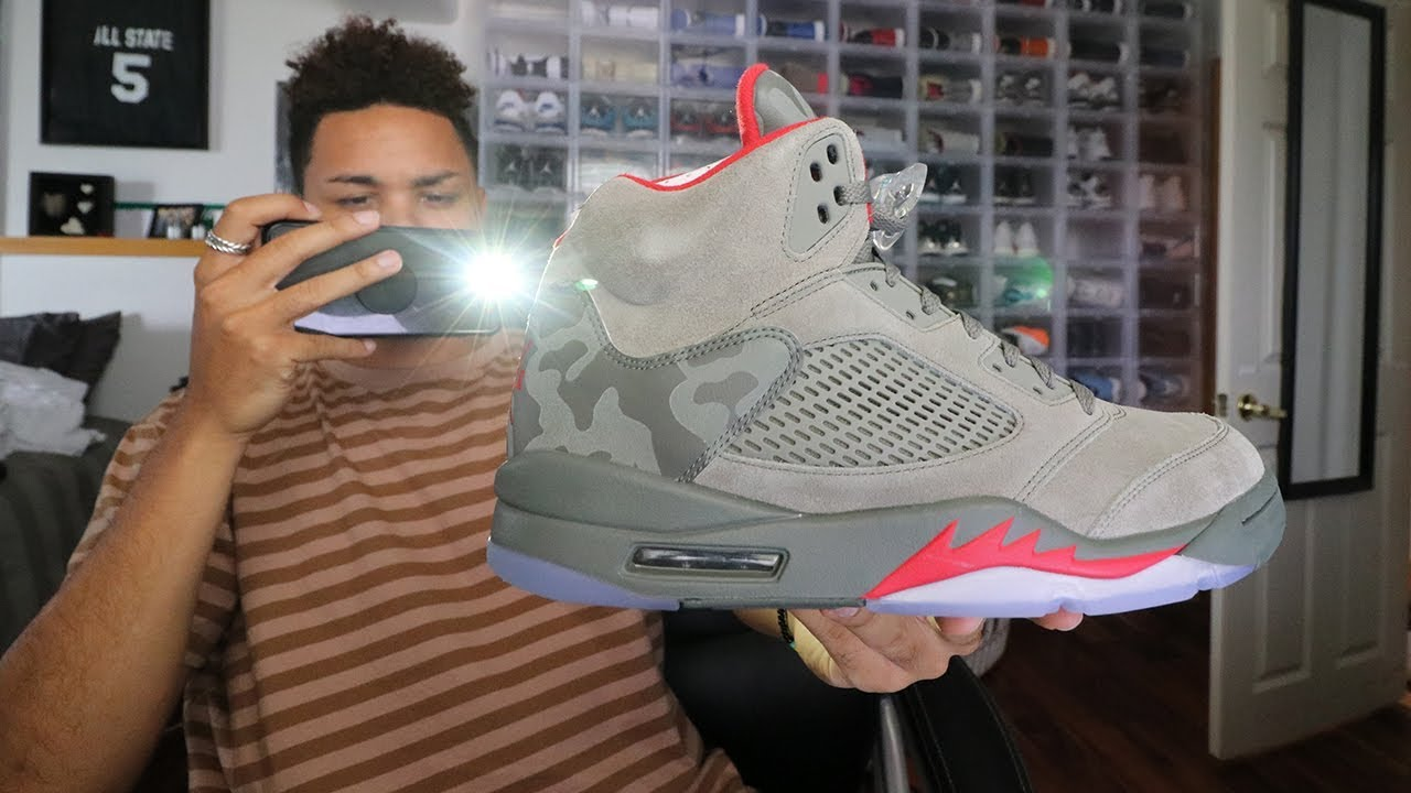 808a2d92b3f8 Air Jordan 5 Camo 2017 First Thoughts!!! - YouTube