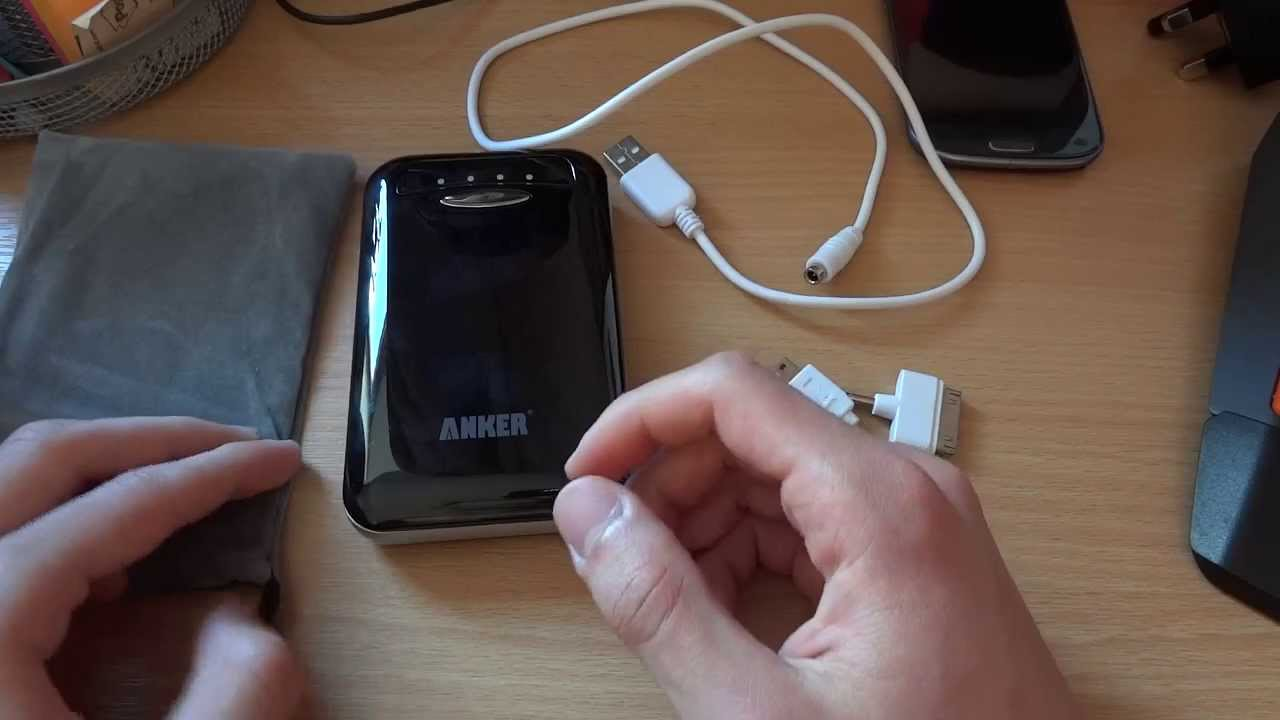 Overview Review Anker Astro E4 13000mah External Battery Charger E3 10000mah Black By Totallydubbedhd Youtube