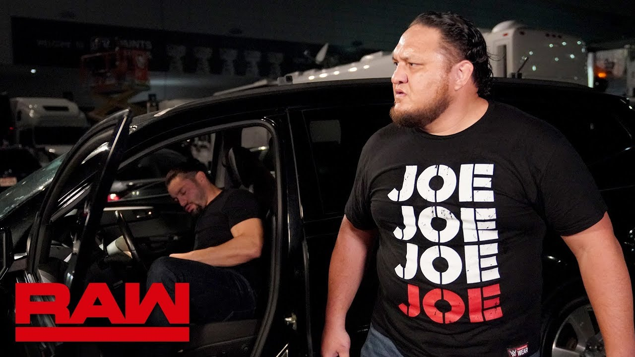 Samoa Joe checks on Roman Reigns: Raw, Aug. 5, 2019
