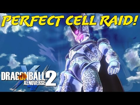 Supervillain Cell Raid Event?!   He's SO STRONG!   Dragon Ball Xenoverse 2