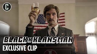 Topher Grace Talks BlacKkKlansman's Relevance for 2018 in Exclusive Blu-ray Clip