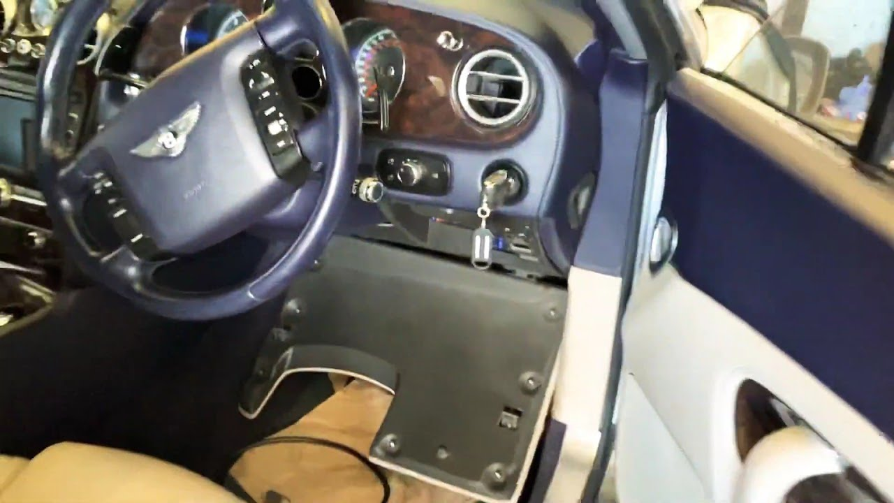 Bentley Continental fuse box location in 2007, fuse box location in Bentley  Continental - YouTube 2005 Bentley Gt Fuse Box YouTube