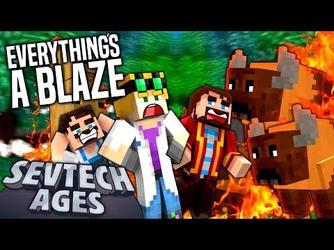 Minecraft: SevTech - EVERYTHING'S ABLAZE - Age 3 #10