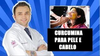 Curcumina (Açafrão da Terra) Funciona para Pele e Cabelo? - Dr Lucas Fustinoni