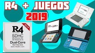 COMO CONFIGURAR UNA R4 Y PONERLE JUEGOS 2019 3DS/2DS/NDS