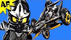 COLE's TREAD ASSAULT 9444 Lego Ninjago Stop Motion Set Review