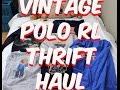 Vintage Polo Ralph Lauren Sport - Thrift Store Finds!!!