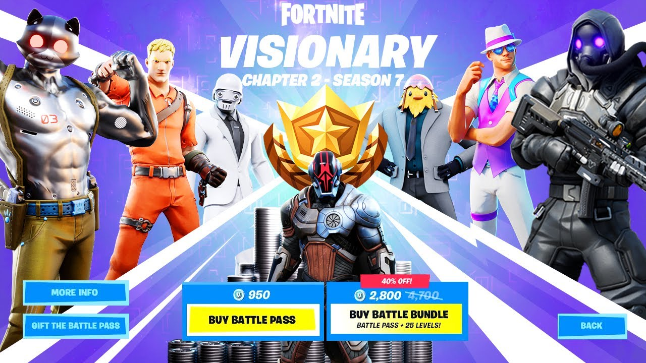 Fortnite Battle Pass What Level Should I Be Fortnite Chapter 2 Season 7 Leaks Release Date Map Trailer Battle Pass And Everything You Need To Know Givemesport