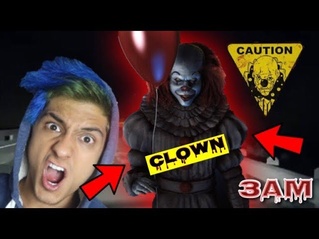 do-not-watch-scary-clown-videos-at-3am-omg-pennywise-came-to-my-house-gone-wrong