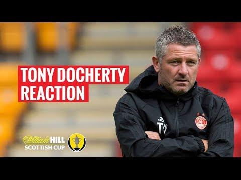 SCR4: Aberdeen 4-1 St Mirren | Tony Docherty