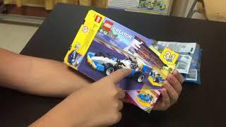 รีวิวเลโก้creatorที่เป็นรถแข่งไทยครับ