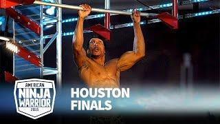 Tremayne Dortch at 2015 Houston Finals | American Ninja Warrior