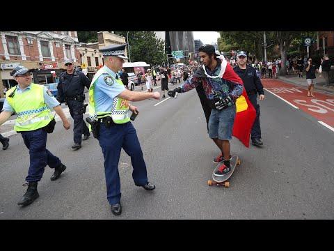 Rallies held across Australia to mark Invasion Day