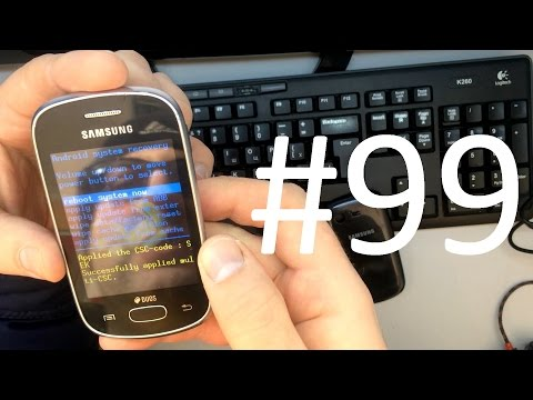 Samsung Galaxy Star S5282 (Hard Reset) сброс настроек