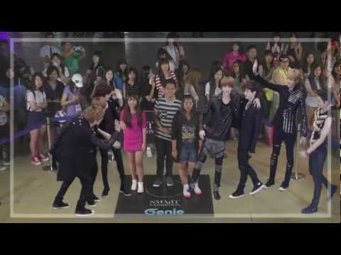 Genie AR SHOW with EXO : Episode 02 _ S.M.ART EXHIBITION in SEOUL COEX (10~19 AUG. 2012)